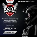 Berani Touring Ikutan Kontes Ini Berhadiah Yamaha R15.