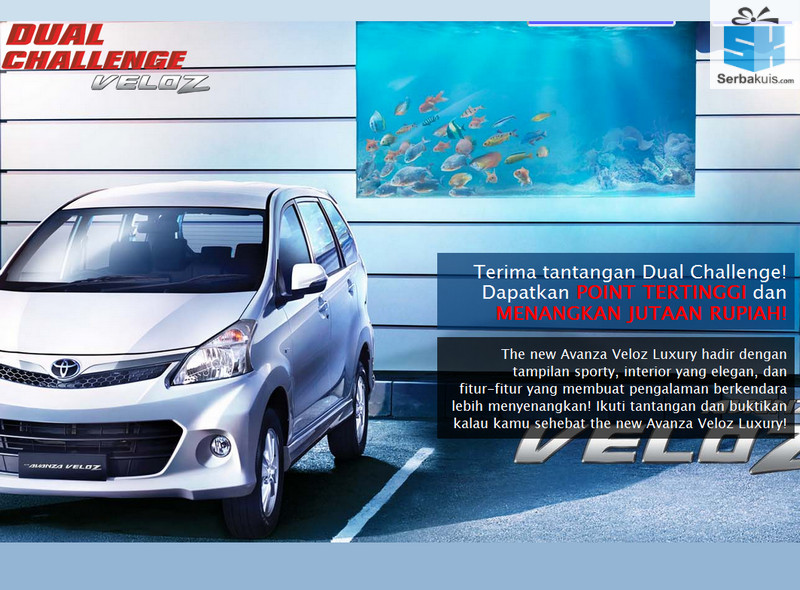 Kontes Duall Challenge Veloz Berhadiah Uang Total 6 Juta
