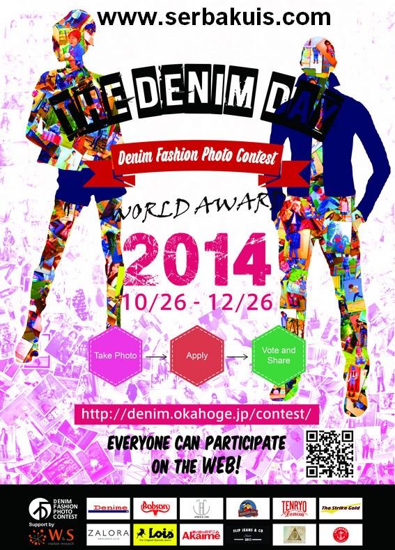 Kontes Fashion Denim Berhadiah Produk Denim Dari Jepang