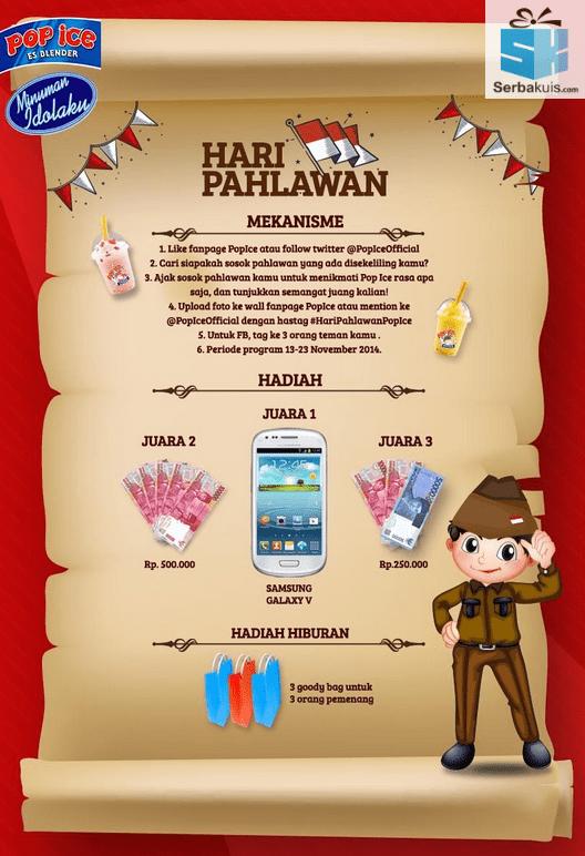Kontes Foto Pahlawan Berhadiah SAMSUNG Galaxy V