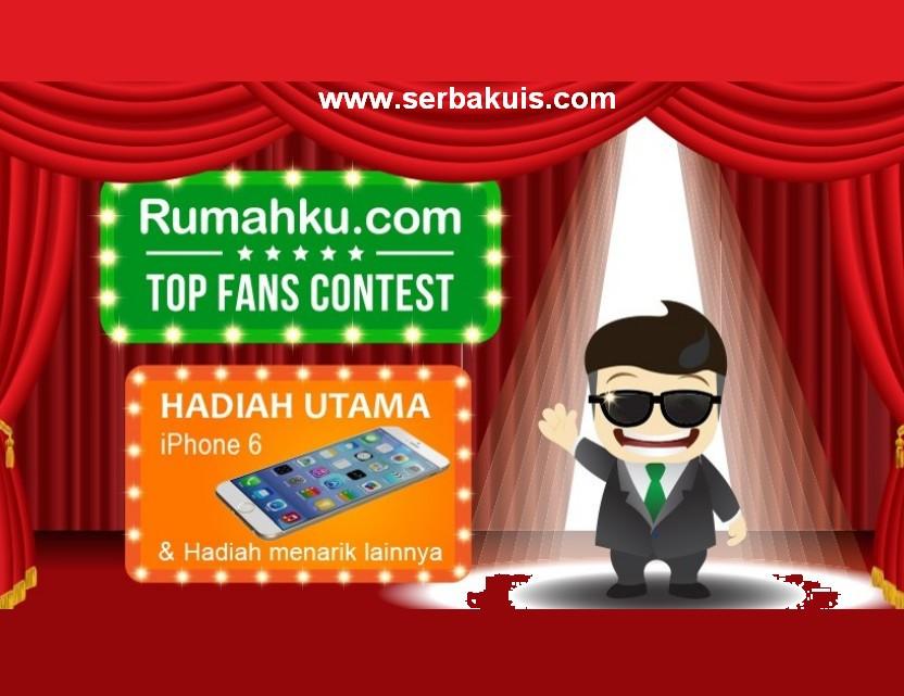 Kontes Top Fans Berhadiah iPhone 6 & ASUS Zenfone 4