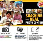 Selfie Bersama Burger King Berhadiah SAMSUNG Galaxy Tab S