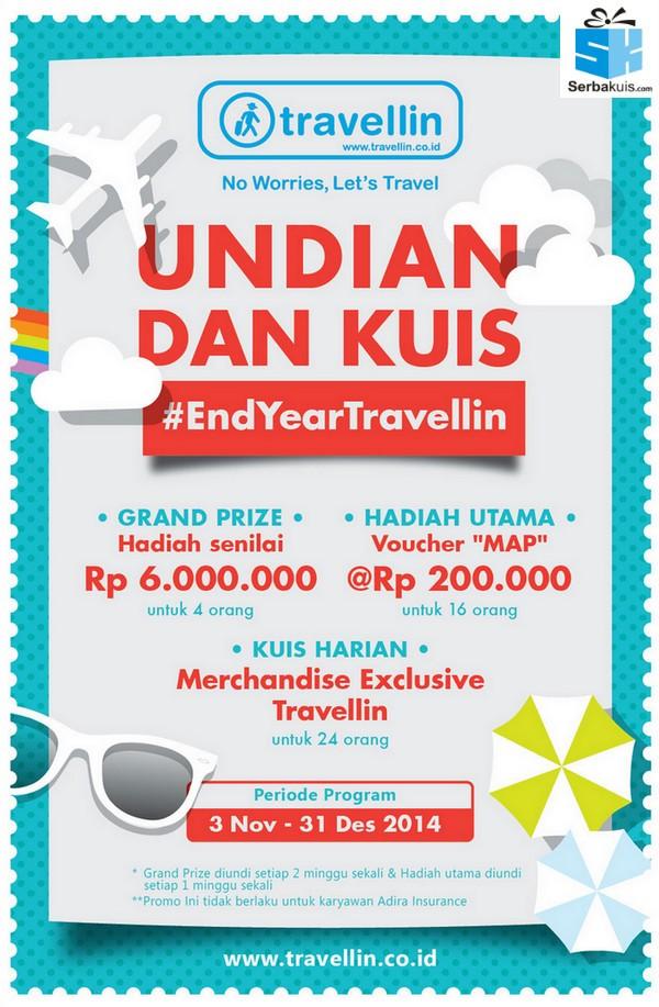 Undian Akhir Tahun Travellin Berhadiah Jutaan Rupiah