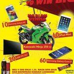 promo drink big to win big alfamart berhadiah ninja 250cc