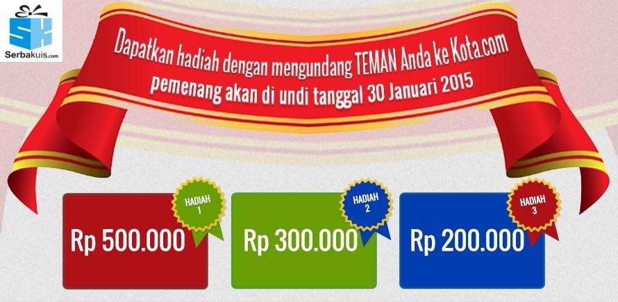Kontes Undang Teman Berhadiah Uang 1 Juta Rupiah
