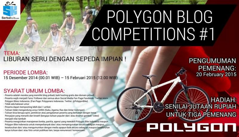 Liburan Seru Dengan Sepeda Impian Blog Contest