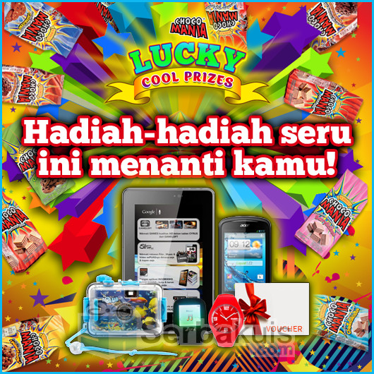 Chocomania Lucky Cool Prizes