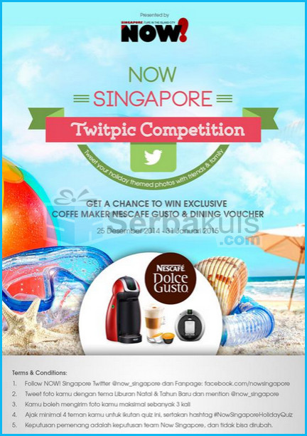 Now Singapore Twitpic Competition