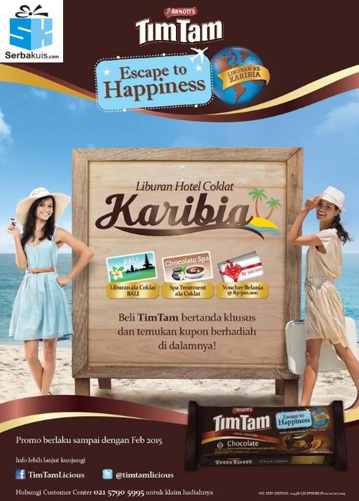 Promo Berhadiah Langsung Tim Tam Escape to Happiness