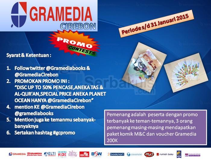 Gramedia Cirebon Promo Contest