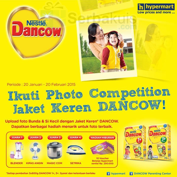 Jaket Keren Dancow Photo Competition