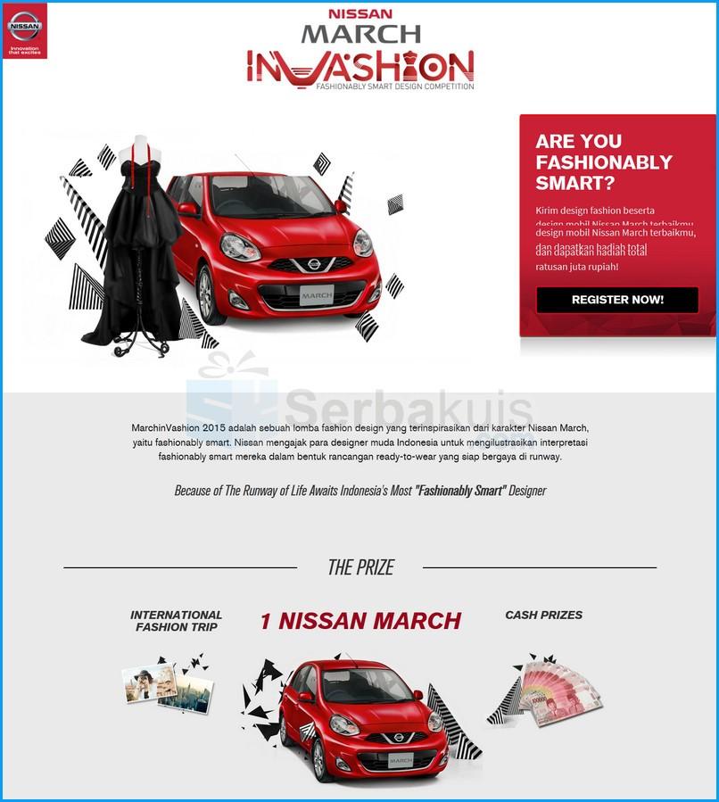 Nissan March Invashion Fashionably Smart Design Competition