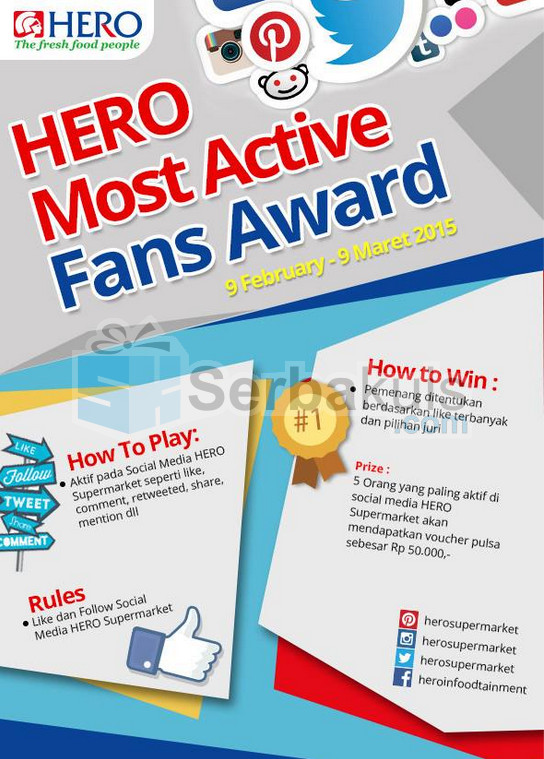 HERO Most Active Fans Award