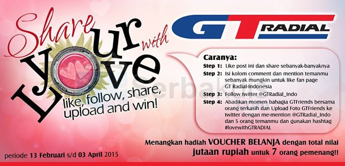 Share Your Love With GT Radial