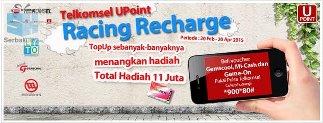 Telkomsel UPoint Racing Recharge