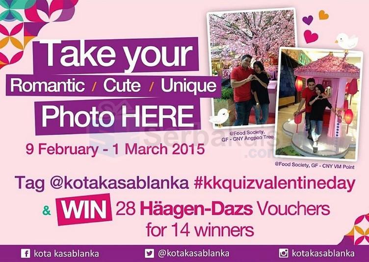 Valentine Day Quiz Kota Kasablanka