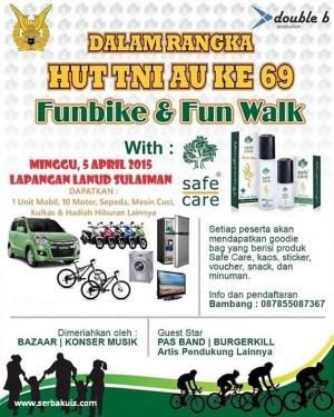 Event HUT TNI AU ke 69 Bandung