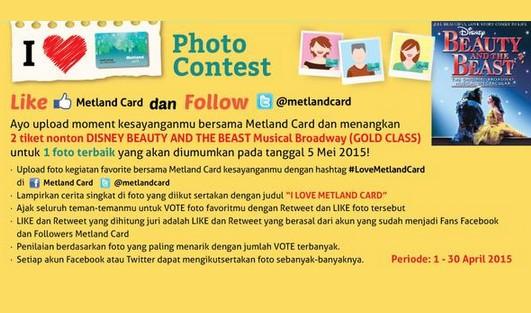 I love metland card photo contest