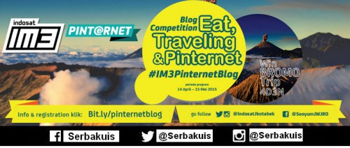 Indosat Eat, Traveling and Pinternet Blog Competition