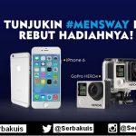 Kontes Mens Way Berhadiah iPhone 6 & GoPro Hero 4