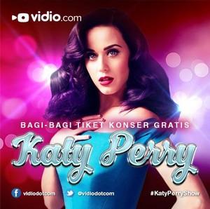 Kontes Vidio Lipsing Berhadiah 4 Tiket Katy Perry-thumb
