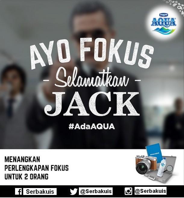 Kuis Selamatkan Jack Berhadiah Kamera FujiFilm XM1