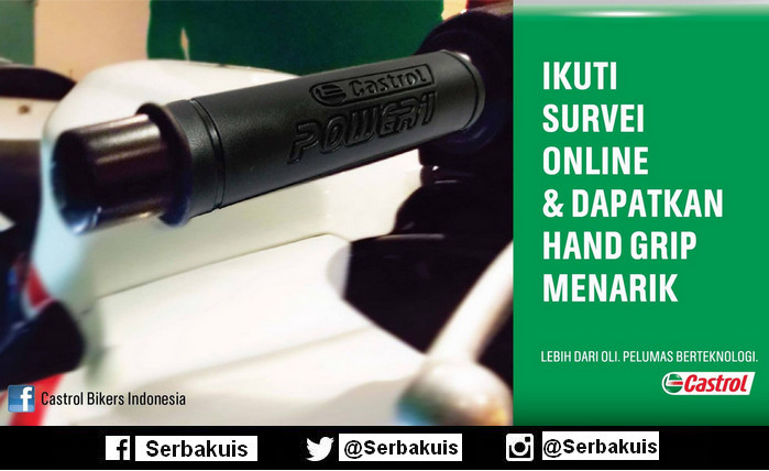 Kuis Survey Online Berhadiah 300 Hand Grip