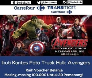 Truck Hulk Avengers