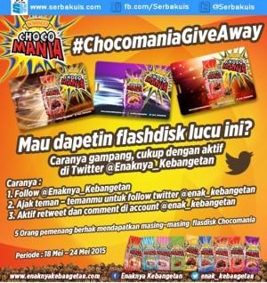 Chocomania Giveaway Berhadiah 5 Flashdisk Gratis