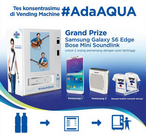 Game Vending Machine Ada Aqua