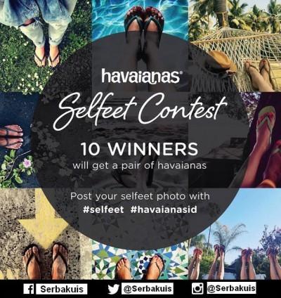 Havaianas Selfeet Contest