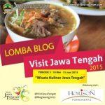 Kontes Blog Wisata Kuliner Jawa Tengah