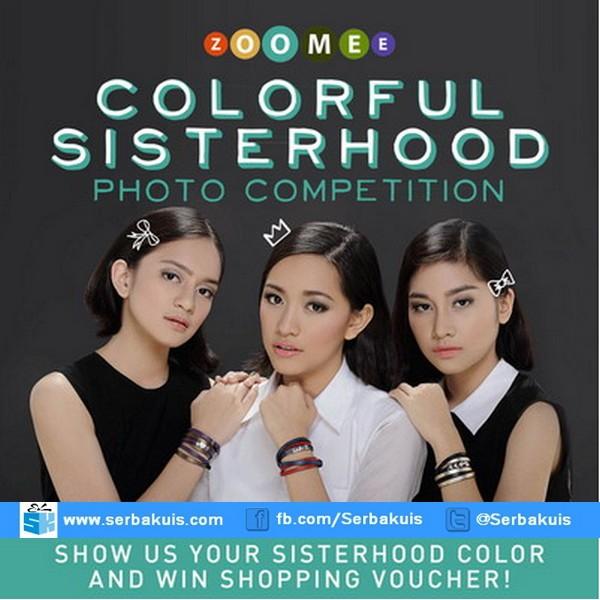 Kontes Colorful Sisterhood Hadiah Voucher Belanja 6 Juta