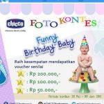 Kontes Foto Funny Birthday Baby