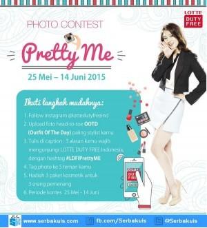 Kontes Foto Pretty Me Berhadiah 3 Paket Kosmetik