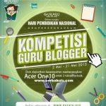 Kontes Guru Blogger Berhadiah 2 Unit ACER One 10