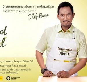 Kontes Resep Olive Oil Berhadiah Masterclass Dengan Chef Bara