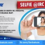 Kontes Selfie di Booth IRC Pekan Raya Jakarta