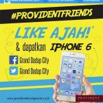 Kuis Provident Friends Berhadiah iPhone 6 & Smartphone