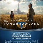 Menangkan Tiket Nonton Disney Tomorrowland