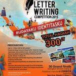 Pos Letter Writing Competition 2015 Berhadiah 300 Juta