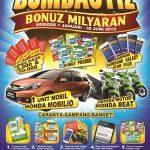 Promo Bombastiz Mintz Berhadiah Mobil Honda Mobilio