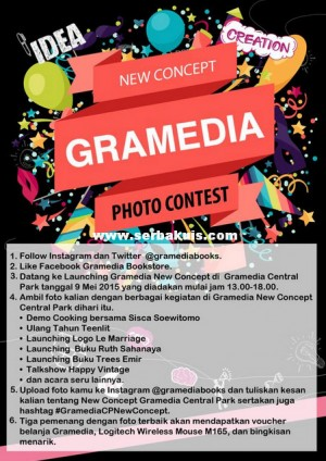 Yuk Ikutan New Concept Gramedia Photo Contest