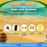 Kontes Floridina Share Your Godness Berhadiah iPad Mini