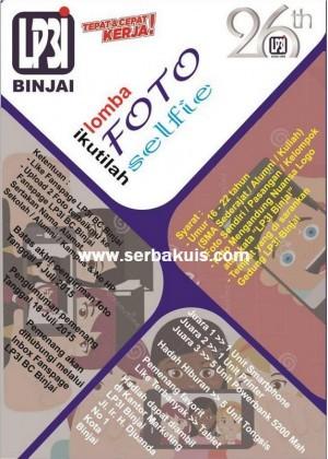 Kontes Foto LP3I Berhadiah Smartphone, Printer, Tablet, dll