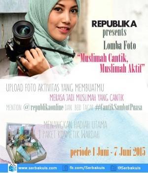 Kontes Foto Muslimah Cantik, Muslimah Aktif