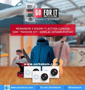 Kontes FotoBiore Go For It Berhadiah 3 Xiaomi Yi Action Camera