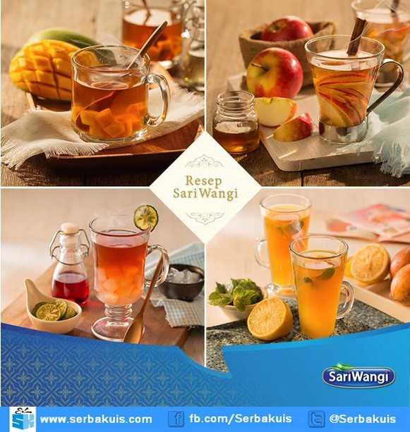 Kontes SariWangi Resep Rahasia Ibu Berhadiah Tea Set & Produk per Minggu