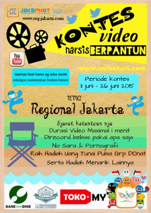 Kontes Video Narsis Berpantun Regional Jakarta