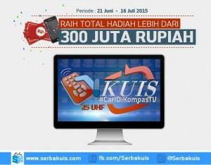 Kuis Cari Di Kompas TV Berhadiah Lebih dari 300 Juta